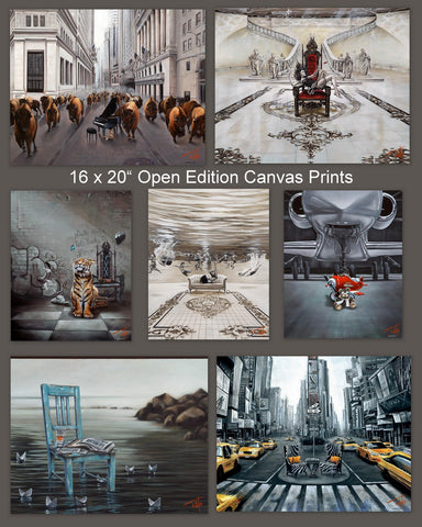 "16x20"" Open Edition canvas prints by Pete Tillack"