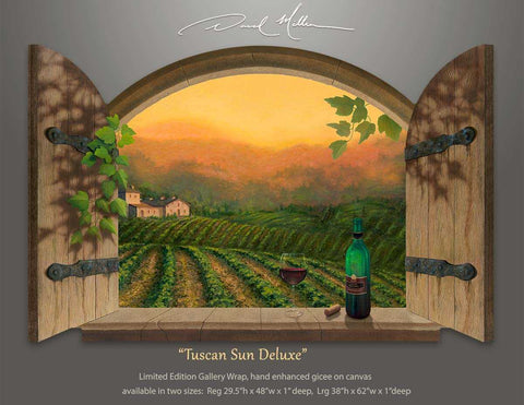 Tuscan Sun Deluxe Artist Proof Edition Canvas Print