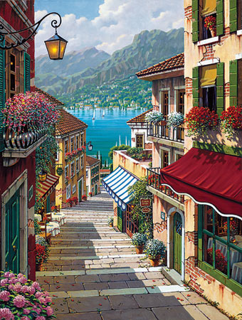 Bellagio Village - Canvas Print