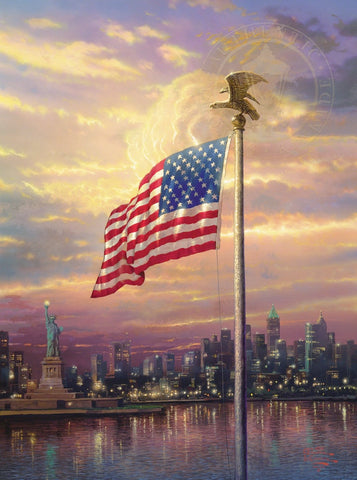 Light of Freedom by Thomas Kinkade available at Gallery 1870