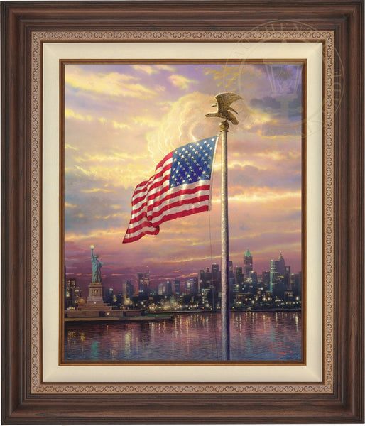 "Light of Freedom 24x18"" Framed"