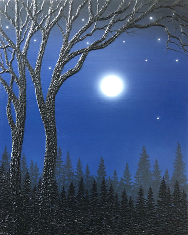 "Starry Night 20 x 16"" original"