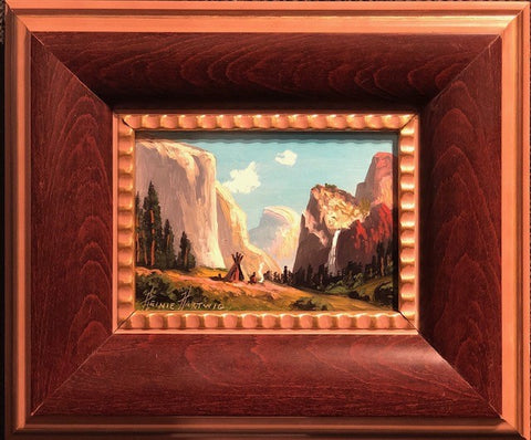 "Yosemite Valley 5x7"" original oil"