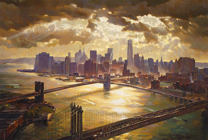 Splendor of Manhattan - Canvas Print