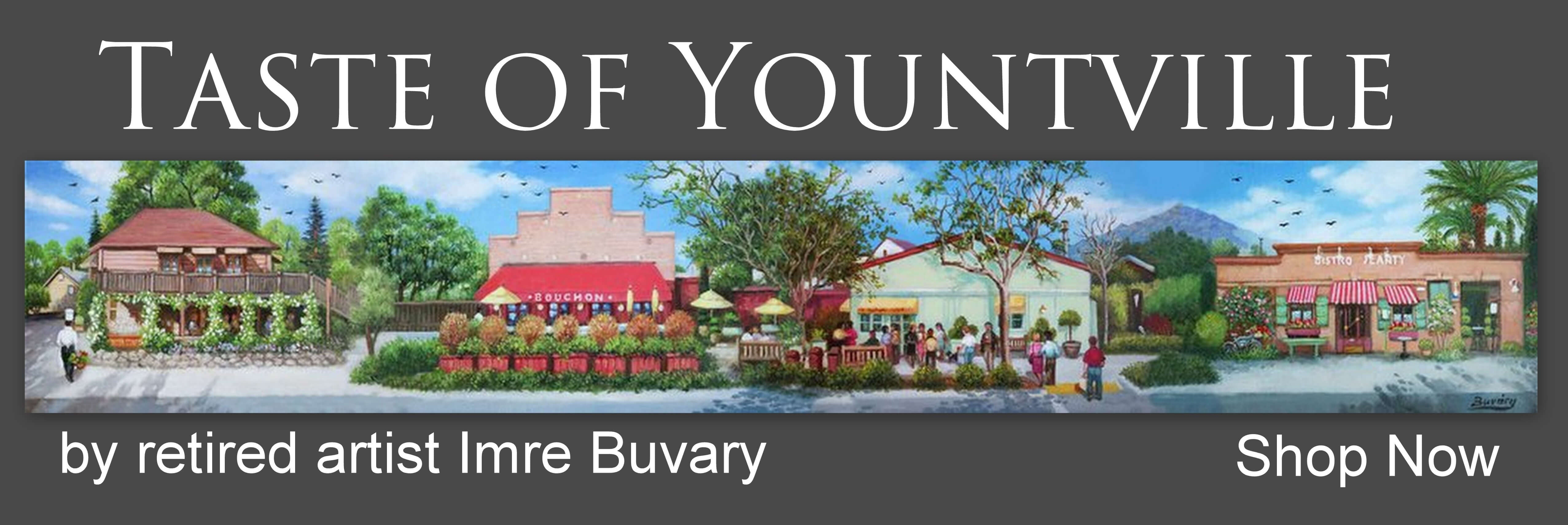 Taste of Yountville by Imre Buvary