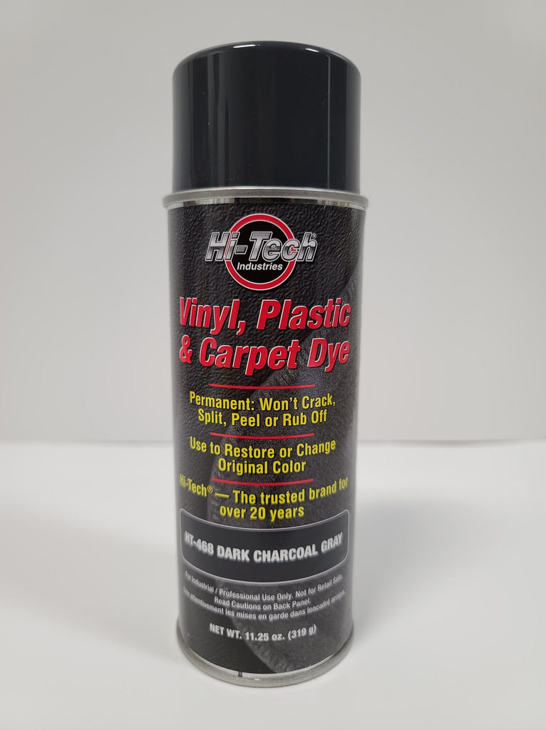 Dark Charcoal Gray Vinyl Plastic & Carpet Dye