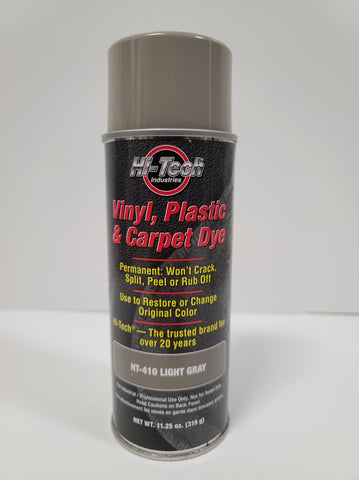 Light Gray Dark Vinyl Plastic & Carpet Dye