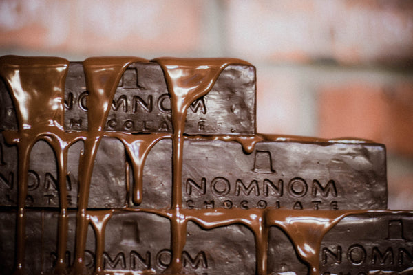 NOMNOM Chocolate Brick - BUILDERS WANTED