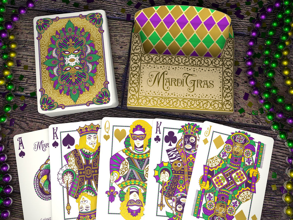 Welcome to the Mardi Gras decks low serial sale