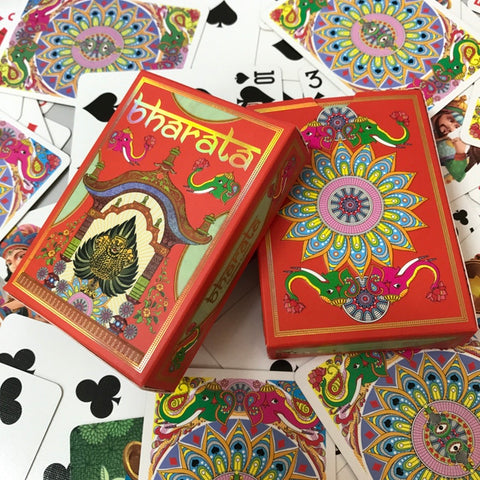 Bharata decks and Uncut Sheets