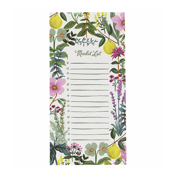 Herb Garden Market Pad by Rifle Paper Co.