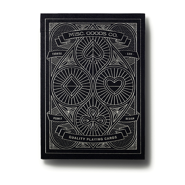 MGCO Black Deck Playing Cards