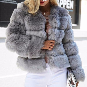 PHOEBE Faux Fur Coat