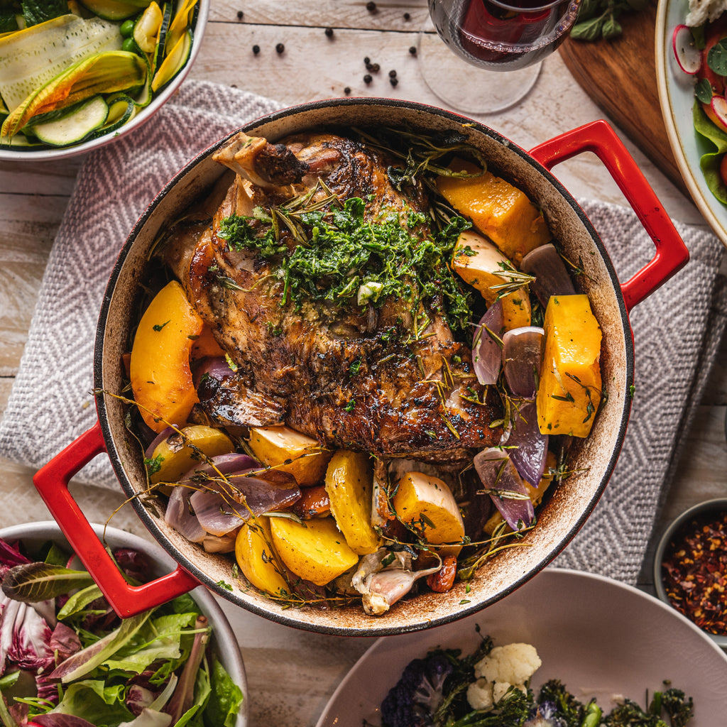 Slow-Cooked Lamb Roast Meal Kit for  4
