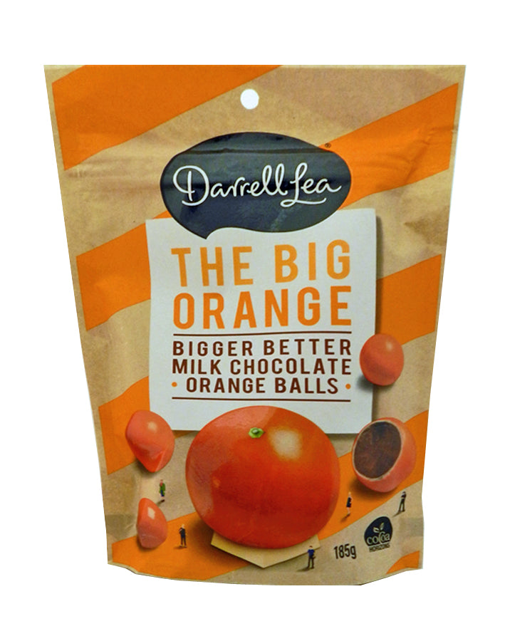 The Big Orange Chocolate Balls by Darrell Lea