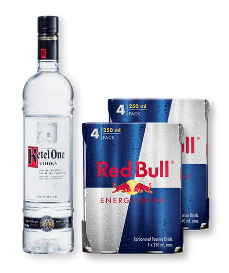 Red Bull & Vodka Party Pack
