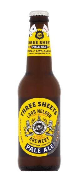 Lord Nelson Three Sheets Pale Ale 330ml x 6
