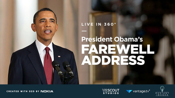 Watch Obama's Farewell Address Live in VR!