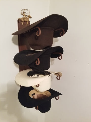 American Made Hat Holder 664 Classic with Calf Roper CT