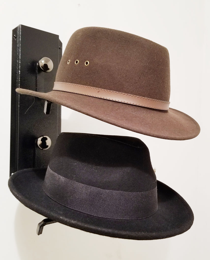 American Made Fedora Hat Rack American Made Two Tier