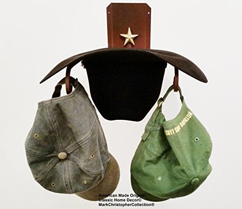 American Made Cowboy Hat Holder STAR CT 89 CT