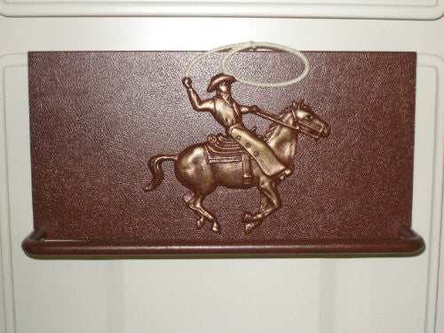 Towel Bar with Cowboy Roper