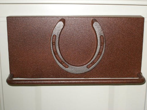 Towel Bar with Genuine Horse shoe