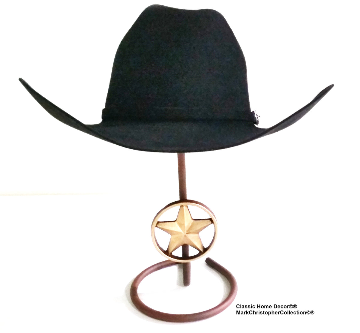 57c73a3808b Cowboy Hat Stand with Lone Star CT – Cowboy Hat Holders Superstore