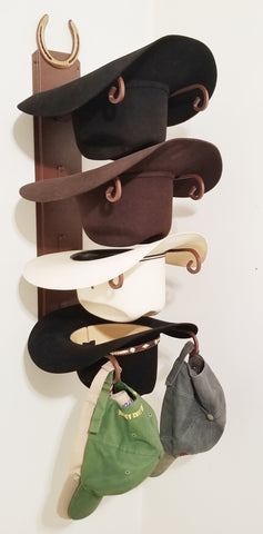 American Made Hat Holder 664 Classic with Horseshoe CT