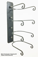 American Made Cowboy Cool Hat Rack Black/Chrome 664 BC/BLK