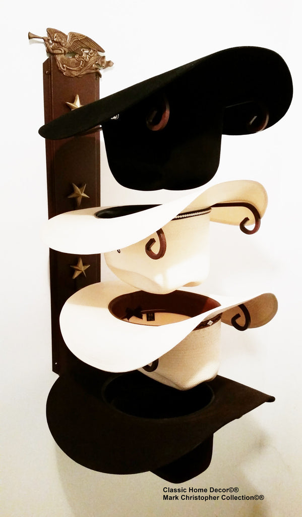 Cowboy Hat Holder with Angel American Made