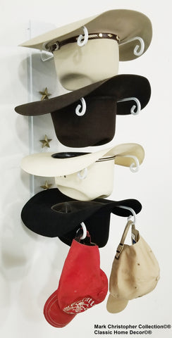 American Made Cowboy Hat Holder  Four Tier Hat Holder