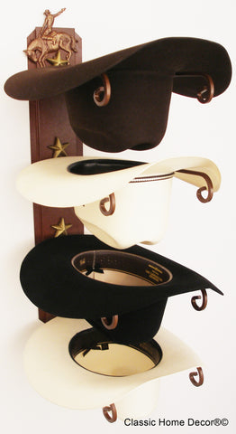 Cowboy Hat Holder Bronc American Made