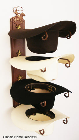 American Made Cowboy Hat Holder Roper American Made