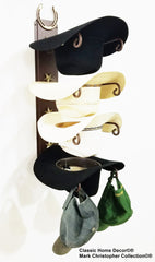 Cowboy Hat Holder Genuine Horseshoe American Made