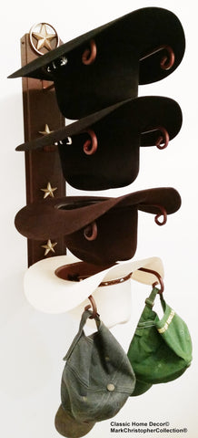 American Made Cowboy Hat Holder Lone Star American Made 4 LS