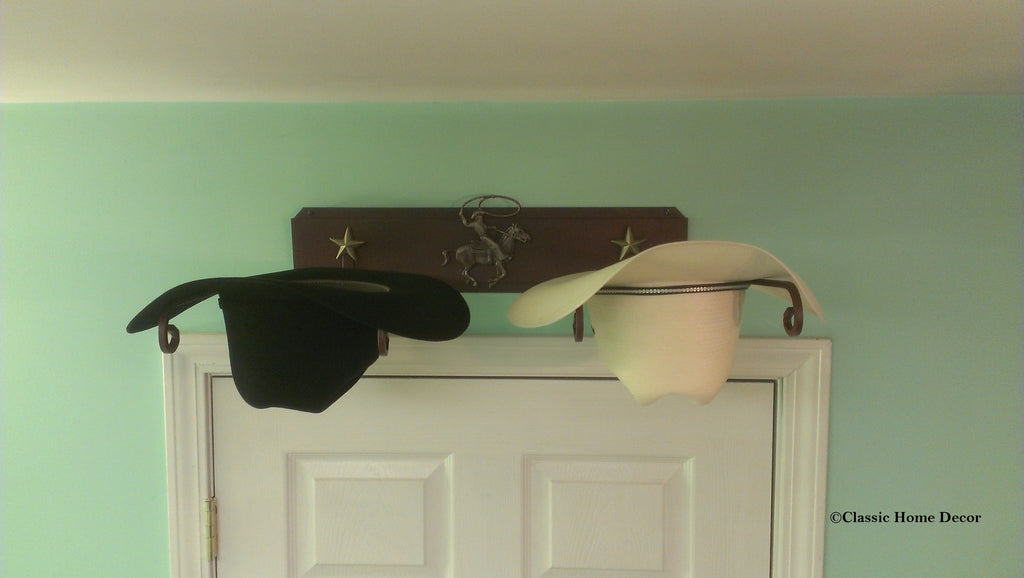 Western Hat Holder 666 Roper STAR CT