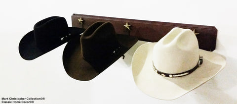 Western Hat Holder American Made 693 BU STAR CT