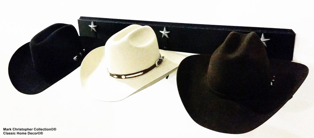 Western Hat Holder American Made 693 BU STAR BLK