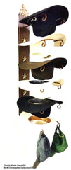 Cowboy Hat Holder STAR 886 Bull Rider CT American Made 6 Tier Hat Rack