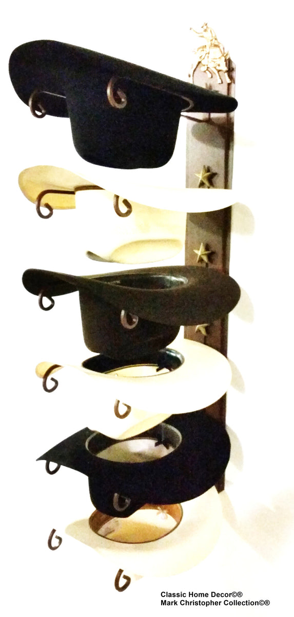 Cowboy Hat Holder STAR 886 Bull Rider CT American Made 6 Tier Hat Rack – Cowboy  Hat Holders Superstore 1b22bef6f188