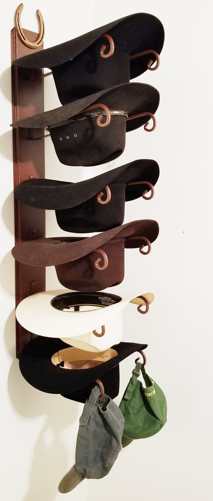American Made Hat Holder 886 Classic with Genuine Horseshoe CT