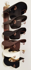 American Made Hat Holder 886 Classic with Calf Roper CT