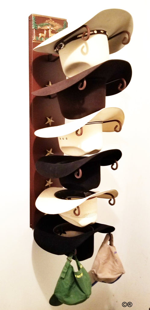 Made in the USA Mark Christopher Collection Lodge Scene Hat Holder