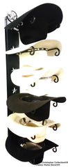 Cowboy Hat Holder STAR 886 Cast Iron Lone Star Black American Made 6 Tier Hat Rack