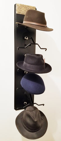 Mark Christopher Collection Mosiac Fedora Hat Holder Made in the USA