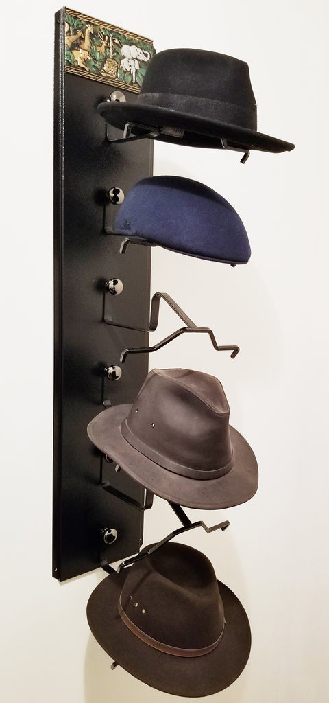 Mark Christopher Collection Serengetti Fedora Hat Holder  Made in the USA