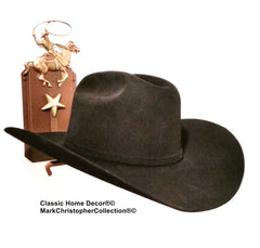 American Made Cowboy Hat Holder Single with Stars  891 Roper Rust