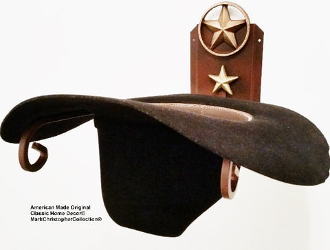 American Made Cowboy Hat Holder Lone Star CT 89 LS