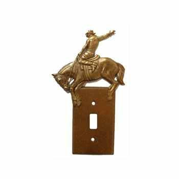 Single Switch Plate Bronc